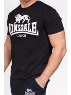 Lonsdale T-Shirt Logo Regular Fit Black