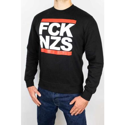 True Rebel Sweater FCK NZS Black