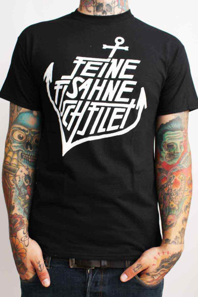 Feine Sahne Fischfilet T-Shirt Anchor Black