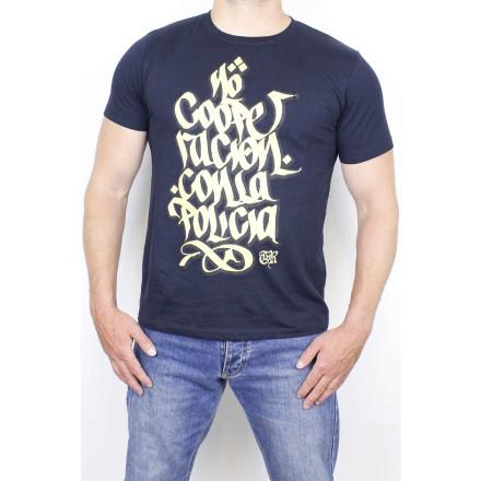 True Rebel T-Shirt No Cooperacion Navy