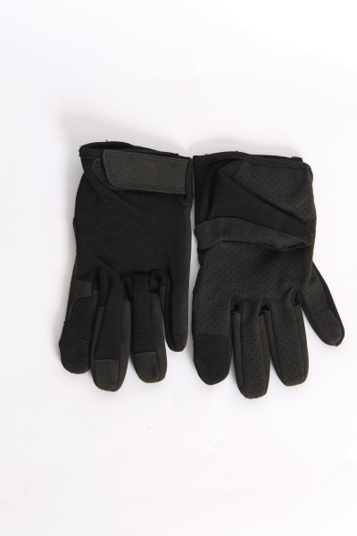 Gloves Touch Black