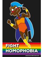 Sticker Fight Homophobia (A7, 25Stck)
