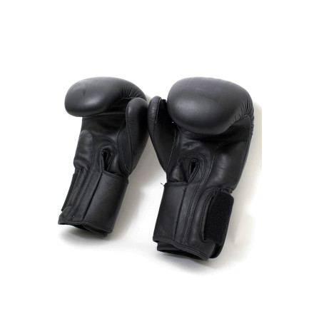 Less Talk Athletics Boxing Gloves Black