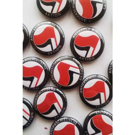 True Rebel Button Antifa Black