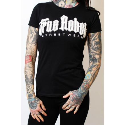 True Rebel Ladies Shirt Vatos Locos Black