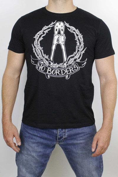 True Rebel T-Shirt No Borders Black