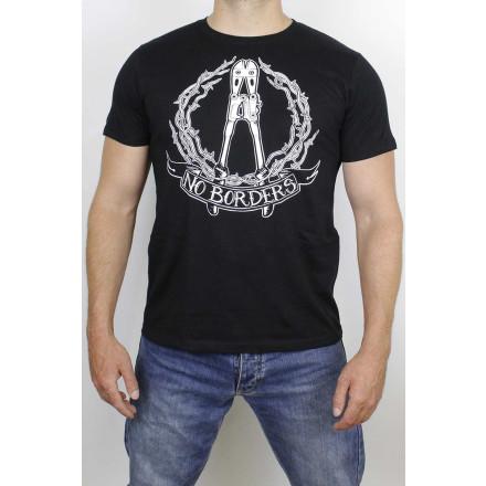 True Rebel T-Shirt No Borders Black