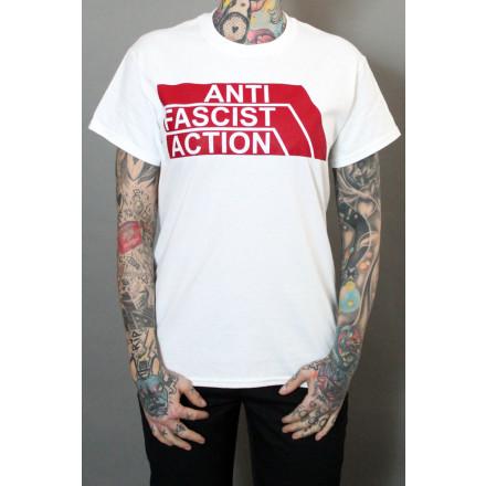 True Rebel T-Shirt AFA 2.0 White Burgundy