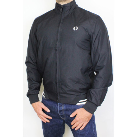 Fred Perry Jacket Brentham Black
