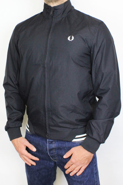 Fred Perry Jacket Brentham Black XL