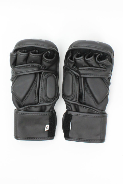 Less Talk Athletics MMA Sparring Gloves Vegan Black