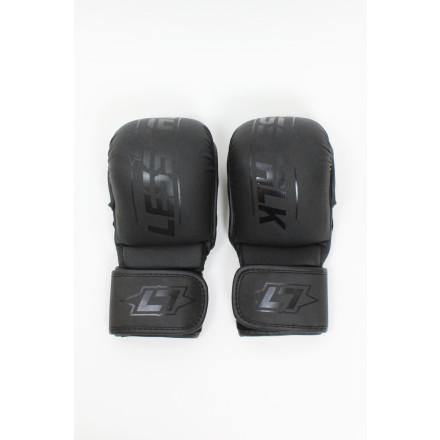 Less Talk Athletics MMA Sparring Gloves Vegan Black