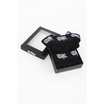 True Rebel Boxershorts Black 2Pack