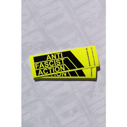Sticker AFA (DinA7 long, 25 Stck) Neon Yellow