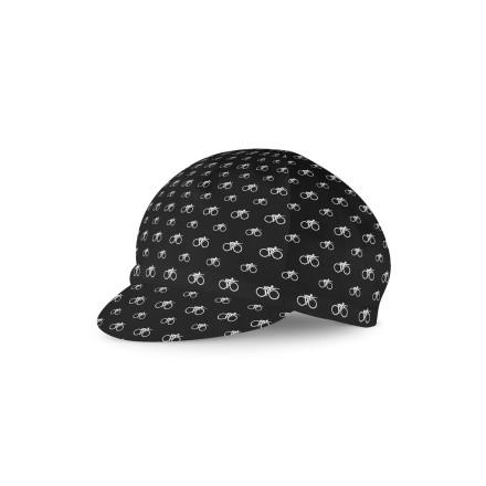 Suicycle Road Cap Logo Black