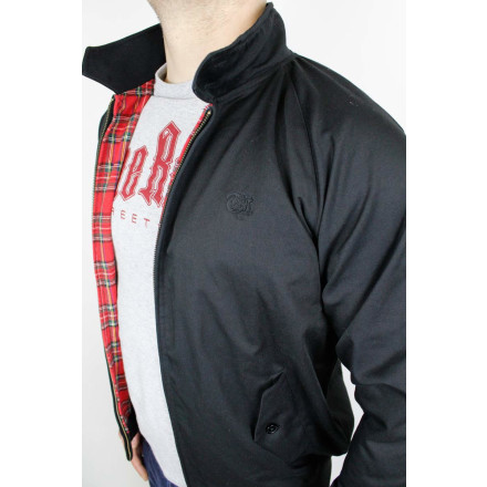 True Rebel Jacket Harrington Black