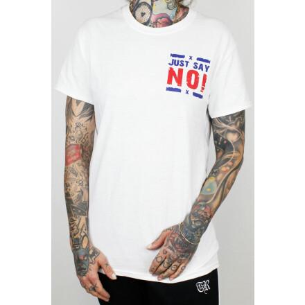 True Rebel T-Shirt No Discussion White