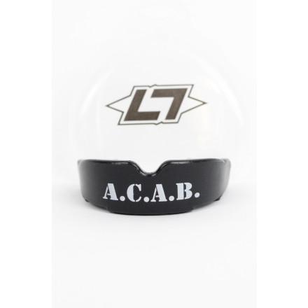 Less Talk ACAB Mouthguard Black
