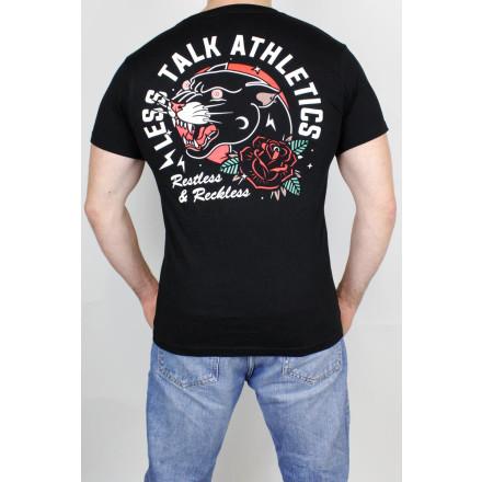 Less Talk T-Shirt Panther Black