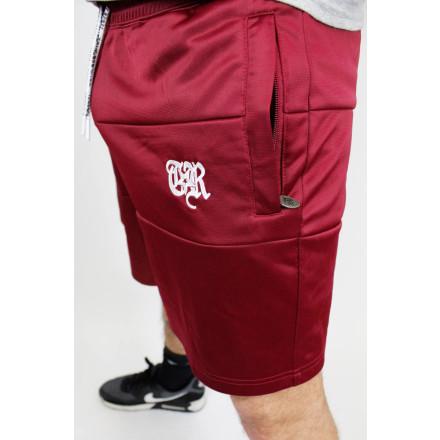 True Rebel Shorts TR Burgundy