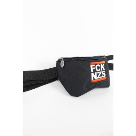 True Rebel Hip Bag FCK NZS Black