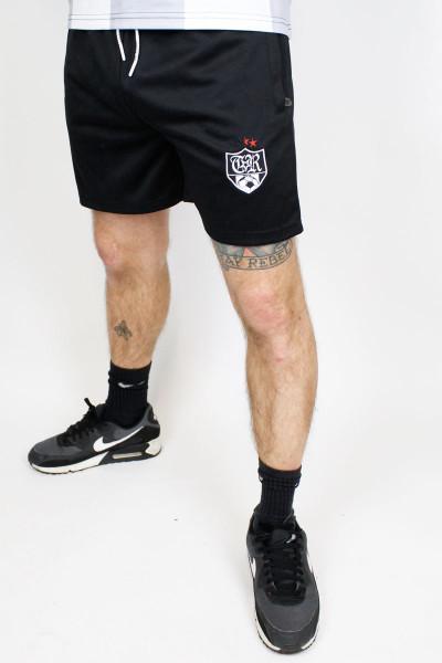 True Rebel Football Shorts Black