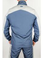 Less Talk Trackjacket Athletics Light Carbon Blue Grey