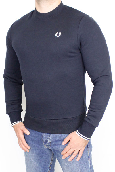 Fred Perry Sweater Crew Neck Navy