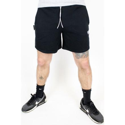 True Rebel Jersey Shorts TR Black