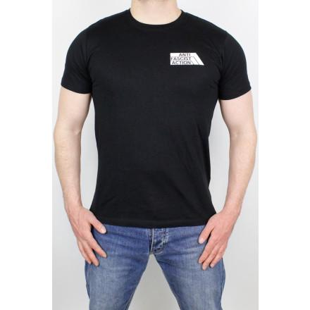 True Rebel T-Shirt AFA 2.0 Pocket Print Black