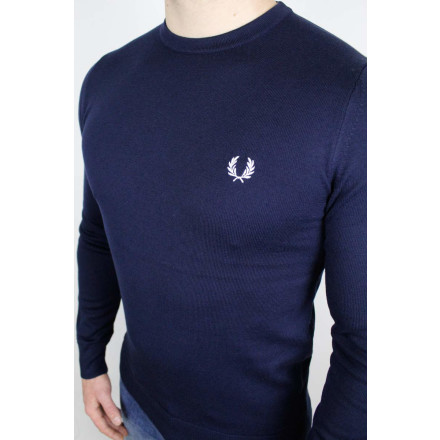 Fred Perry Jumper Classic Crew Neck Navy