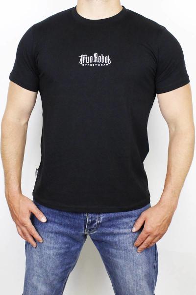 True Rebel T-Shirt Vatos Locos Central Black