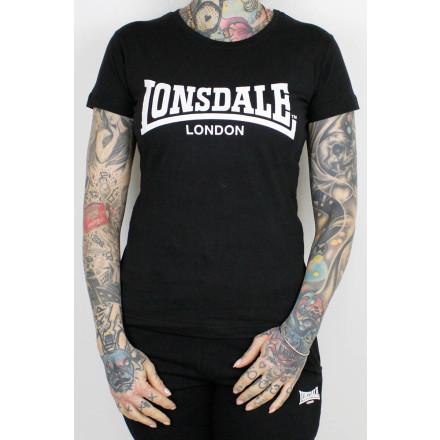 Lonsdale Ladies Shirt Cartmel Black