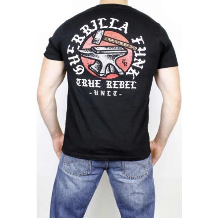 True Rebel T-Shirt Guerilla Funk Black
