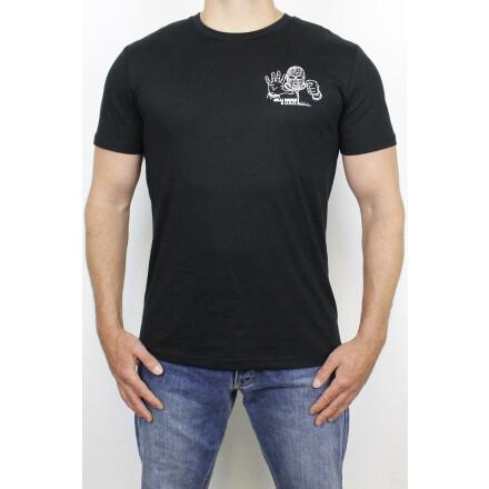 Milli Dance & U.N.O. T-Shirt Fünf vor Fick Black