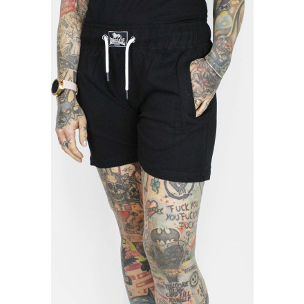 Lonsdale Ladies Shorts Hothershall Black