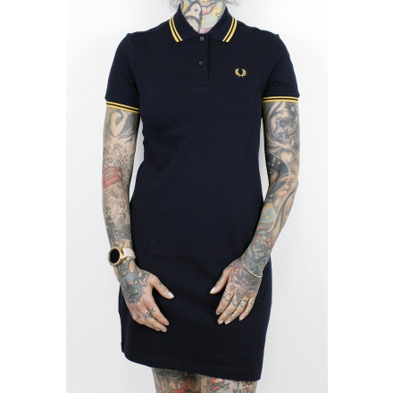 Fred Perry Ladies Dress Twin Tipped Navy