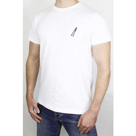 True Rebel T-Shirt Boltcutter White