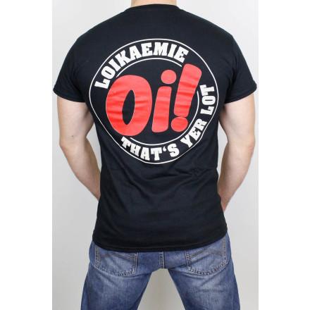 Loikaemie T-Shirt Classic Oi! Black