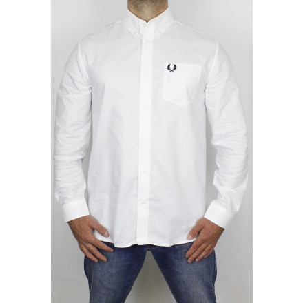 Fred Perry Shirt Oxford White