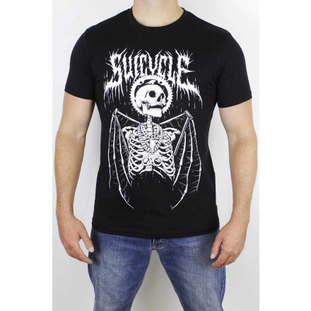 Suicycle T-Shirt Masters Of Death Black