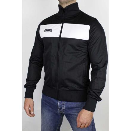 Lonsdale Tricot Jacket Alnwick Black White