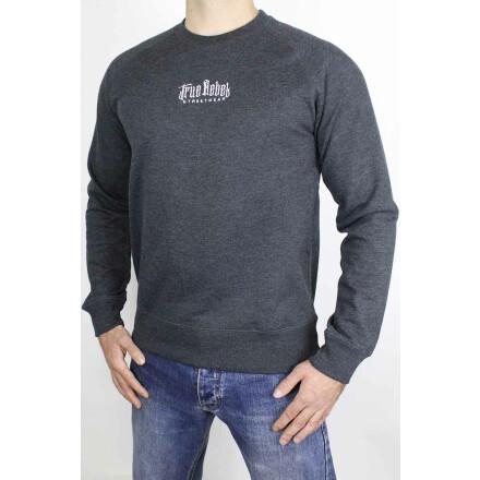 Recycled Sweater Vatos Locos Central Melange Black