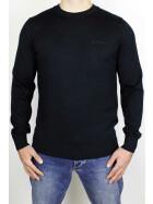 Ben Sherman Sweater Merino Signature Black