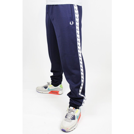 Fred Perry Trackpants Taped Carbon Blue