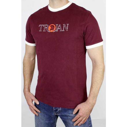 Trojan T-Shirt Oultine Logo Port