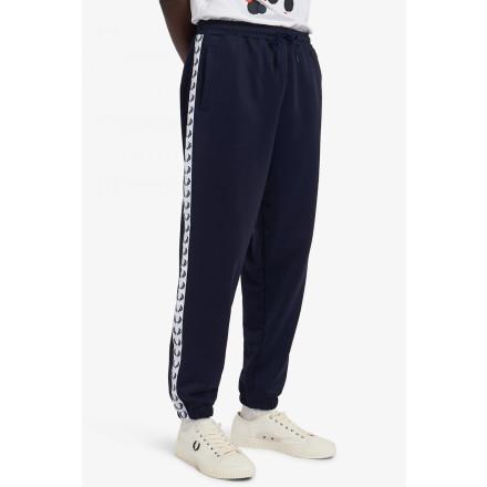 Fred Perry Trackpants Taped Black