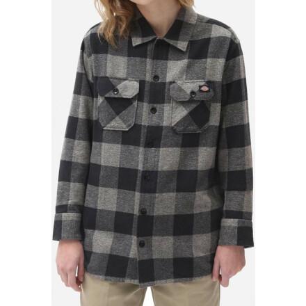 Dickies Shirt New Sacramento Grey Melange