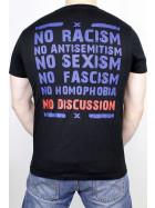 True Rebel T-Shirt No Discussion Black