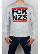 True Rebel Sweater FCK NZS Grey